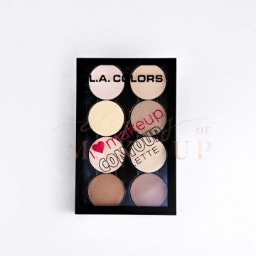 LA COLORS I HEART MAKEUP- CONTOUR PALETTE image