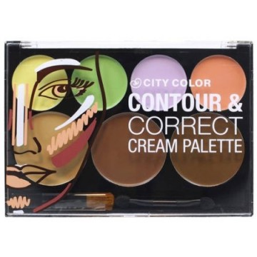 CITY COLOR COLOR CORRECT CONTOUR CREAM PALETTE image