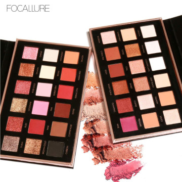 FOCALLURE Metallic Day To Night 18-Color Eyeshadow Palette image