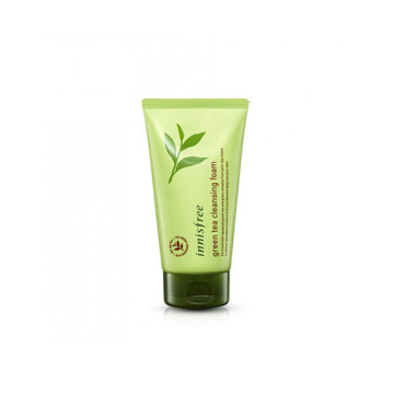 INNISFREE GREEN TEA CLEANSING FOAM 30 ML (TRAVEL SIZE) image