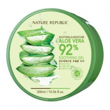 NATURE REPUBLIC SOOTHING & MOISTURE ALOE VERA 92% SOOTHING GEL image