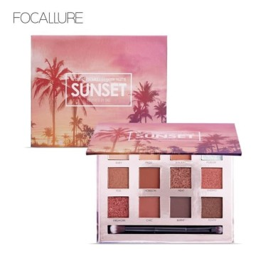 FOCALLURE FA50 12 Colors Eyeshadow Sunset Palette image