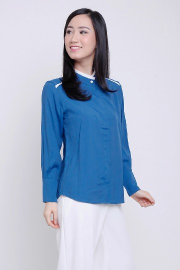 Lyne High Collar Top