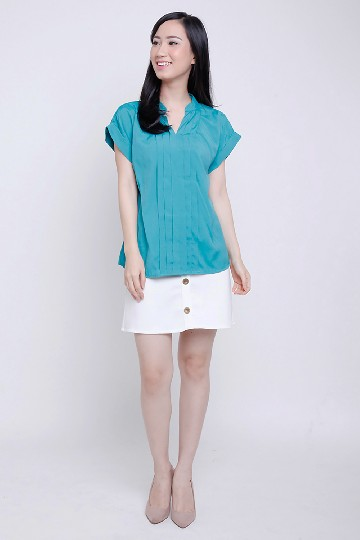 Nara Pleated Top