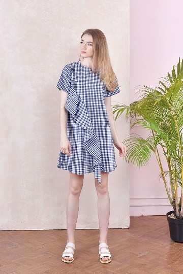 Ella Checkered Dress
