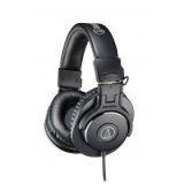 Audio Technica M30X Monitoring Headphone - Hitam image