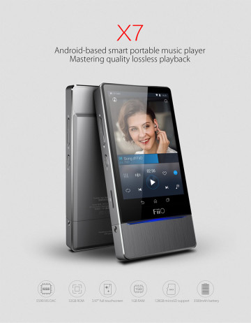 FiiO X7 High Resolution Audio Player image