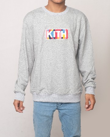 KITH sweatshirt Grey 61578