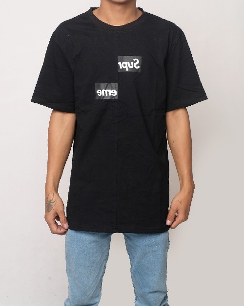 4a3aaa70ceaa ... Supreme X Comme Des Garcons T-shirt - Black 61592. img-full ...