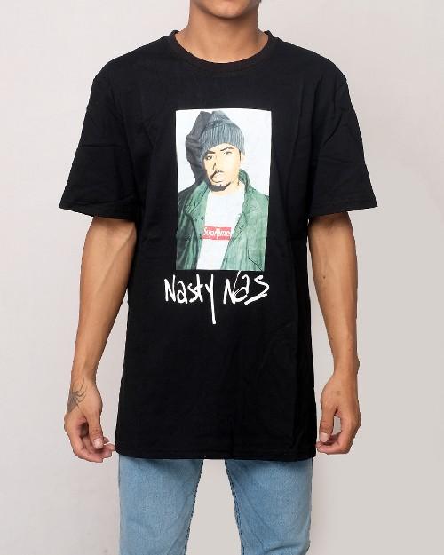 a0c4b1bfd Supreme X Nasty Nas T-shirt - Black 61596