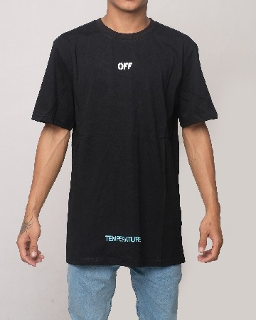 Off-White Temperature T-shirt - Black White