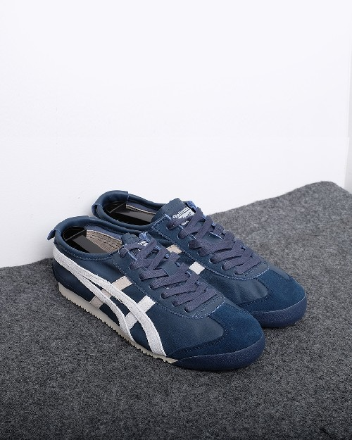 huge selection of 3bd6e 2abd7 Onitsuka Tiger Mexico 66 - Navy Putih