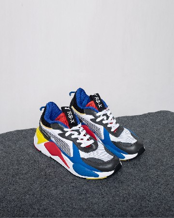 Puma RS-X Toys - White Blue Risk Red - 13315