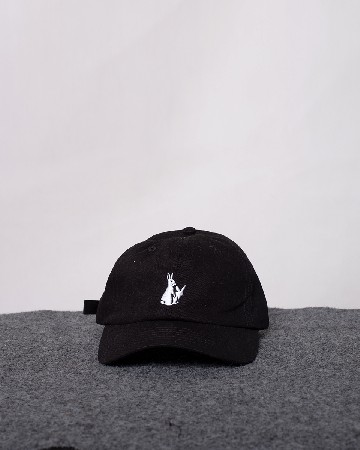 FR2 Embroidery Six Panel Cap - Black White - 61517