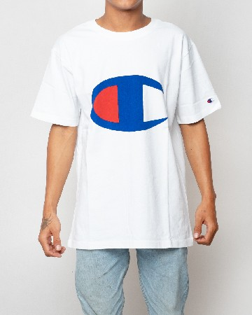 Champion T-shirt Crewneck - White