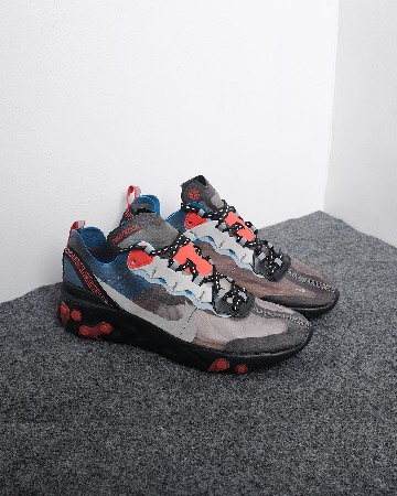 Nike React Element 87 - hitam abu biru 13184