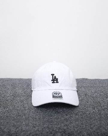 47 Los angeles dodgers - putih hitam 61561