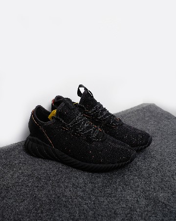 Adidas Tubular Doom Sock Primeknit - Core Black - 13353
