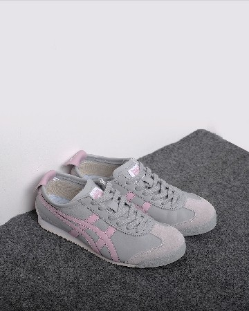 Onitsuka tiger 66 slipon - grey pink - 13359