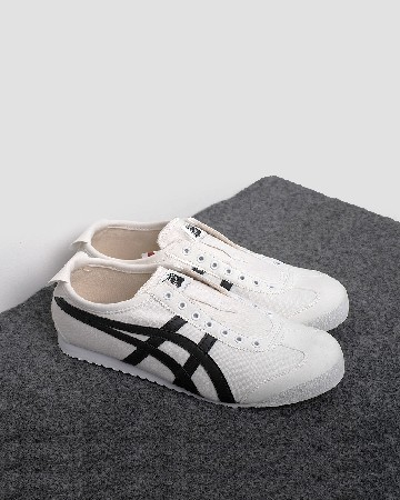 onitsuka tiger 66 slip on - white black - 13363