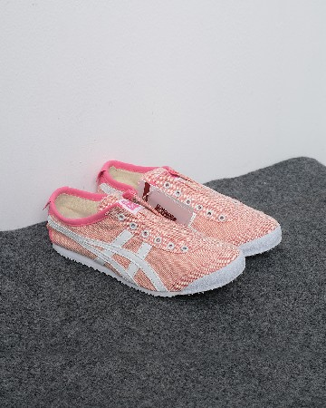 Onitsuka Tiger Mexico 66 Slip-On Sport Pink White - pink putih 13256