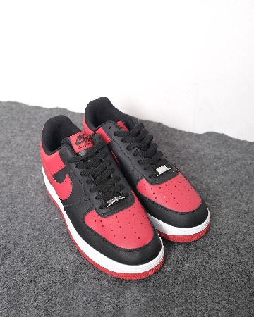 nike air force 1 GS - black red - 13304