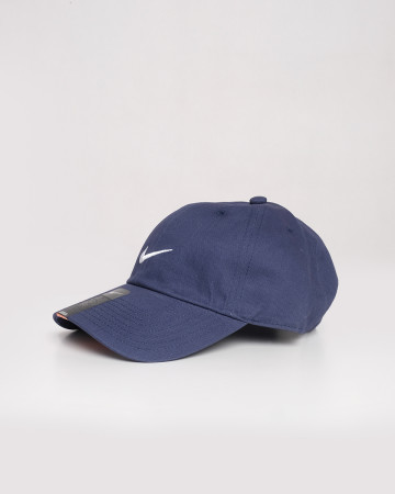 Nike Cotton Caps - Blue White - 61719