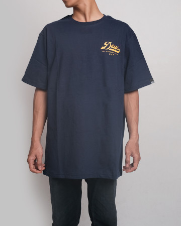Deus Ex Machina Mofun Tee - Navy - 61778