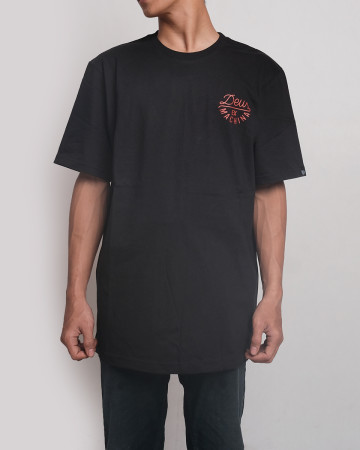 Deus Ex Machina Poppy Tee - Black - 61779