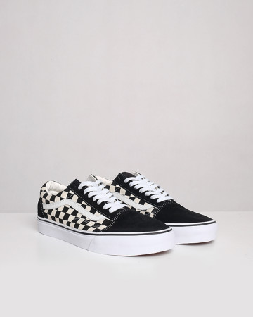 Vans Old Skool Checkerboard - Black White - 13403