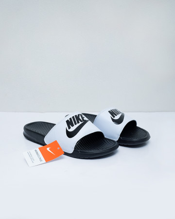 Nike Benassi JDI Slide - Black White - 13508