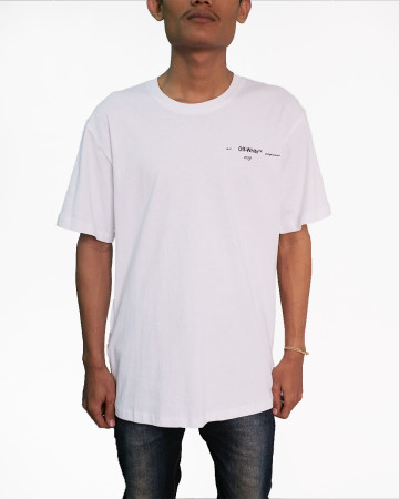 Off White KISS S/S T-Shirt - White - 61756
