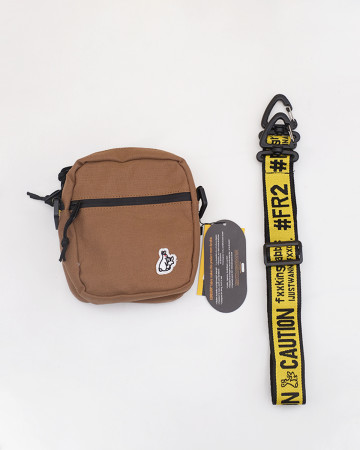 FR2 Small Shoulder Bag - Brown - 61973