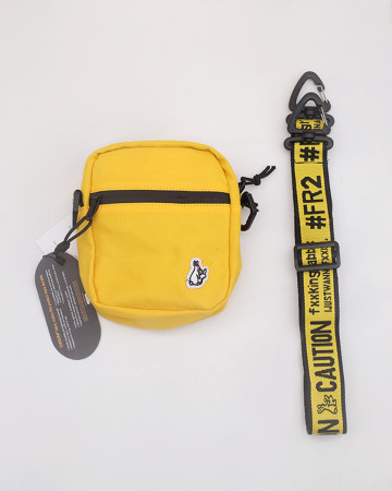 FR2 Small Shoulder Bag - Yellow - 61975