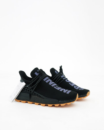 Adidas NMD Hu Trail Pharrell Now Is Her Time - Black - 13552