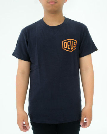 DEUS EXMACHINA CANGGU ADDRESS - NAVY ORANGE - 62064