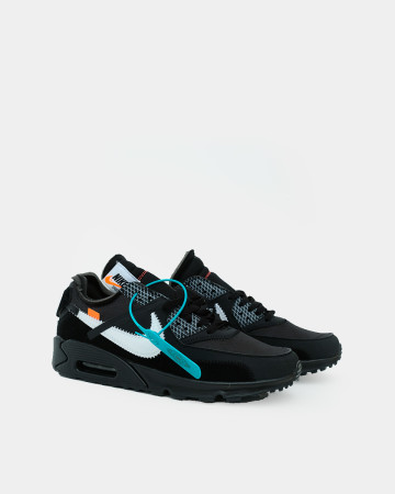 Air Max 90 OFF - White Black - 13569