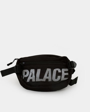 Palace Waist & Pouch Bag - Black - 62050