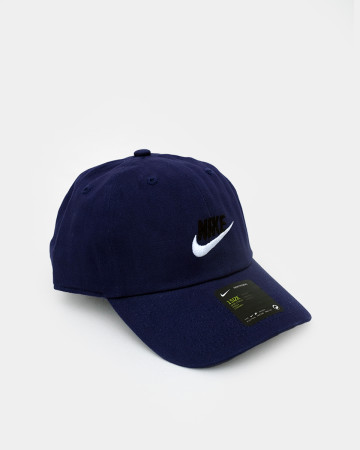 NIKE Authentic Dri-FIT Low Profile Swoosh Front Adjustable Cap - Navy Blue - 62085