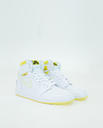 Jordan 1 Retro High First Class Flight - White Yellow - 13570