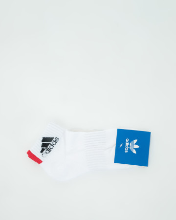 Adidas Sock - White Red - 62157