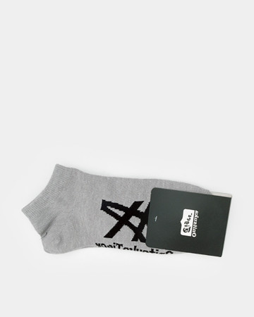 ASICK SOCK - GREY 62152