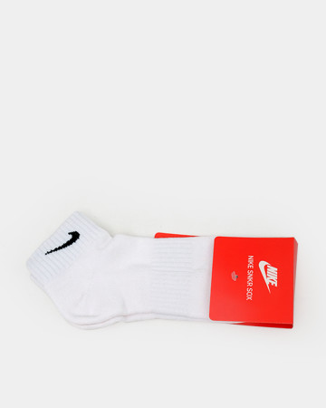 Nike Mid Sock - White 62172