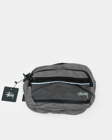 Stussy Diamond Ripstop Shoulder Bag - Grey 62070