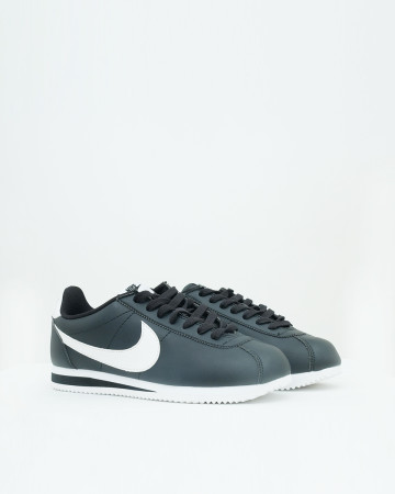 Nike Cortez Basic - Black White - 13616