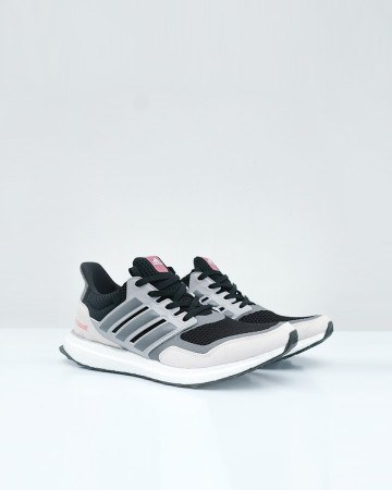ADIDAS ULTRA BOOST S&L - BLACK GREY FOR RED - 13637