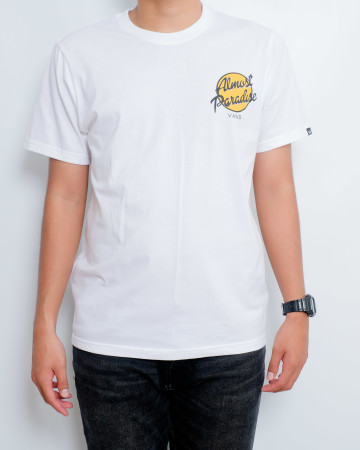 ALMOST PARADISE T-SHIRT - White - 61794