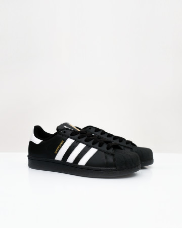 adidas Superstar Laceless Black White - Core Black Cloud White - 13662