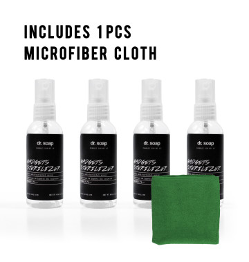 Gadget Sterilizer 60ml (4pcs) + 1 Microfiber Cloth image