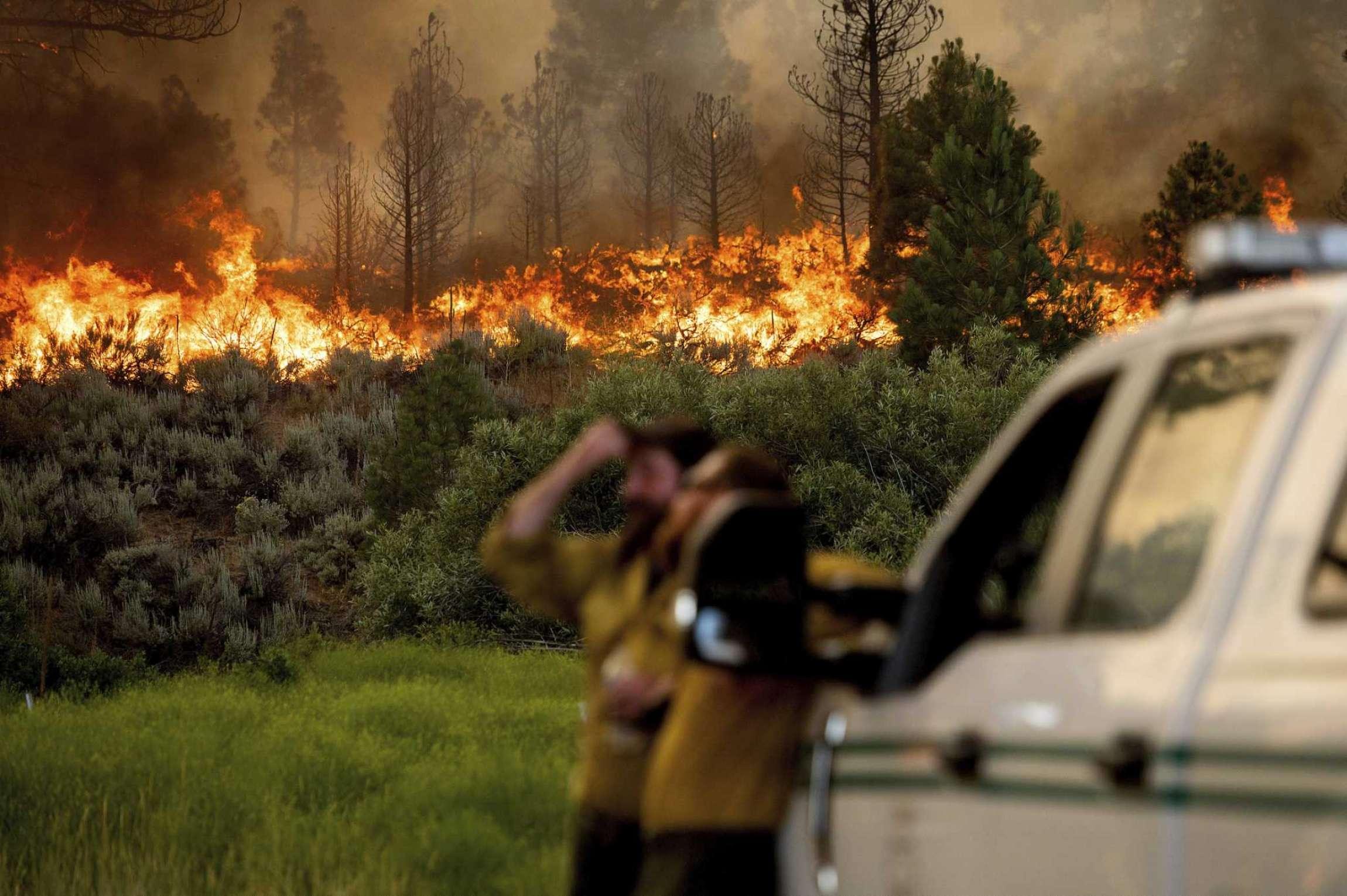 Fires in California 2021